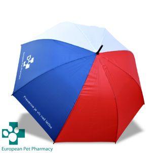 Velký deštník - česká vlajka