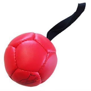 Kožený balón se silikonovou náplní Ø 8 cm