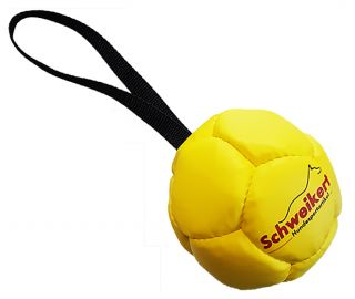 Kožený balón plněný vzduchem Ø 10 cm
